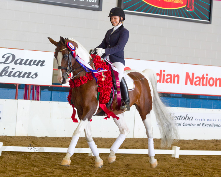 Hook and Mimi at 2012 Canadian Nationals
